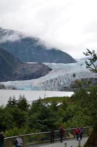 メンデンホール氷河(Mendenhall Glacier)に来たら、ナゲット滝(Nugget Falls)まで歩こう!:ルビープリンセスアラスカクルーズ - あれも食べたい、これも食べたい!EX