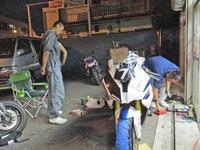 F田サン号 BMW HP4からのお祝いディナーーーー(^O^)/ - バイクパーツ買取・販売&バイクバッテリーのフロントロウ!