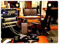 ◼ 昨日はスタジオで音チェックのちゲリラ豪雨‼ - infix公式ブログ『長友仍世&佐藤晃のサンキューオーディー』
