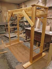 うんていNタイプW1700×H1700×D1100 固定式登り棒 可動式登り棒 - MAGINU STYLE by Art Furniture Gallery