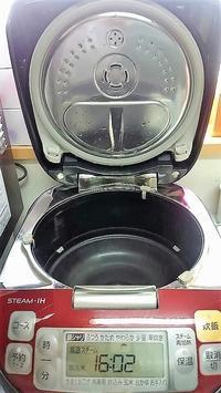 炊飯器の耐震強度 - 目から鱗ンタクトレンズ