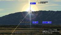 ひめちゃご88 福童神社2 冬至の太陽は鷹取山から昇る - ひもろぎ逍遥