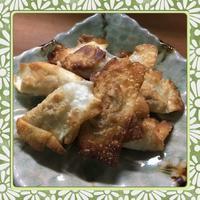 しゅうまいの皮で作る簡単揚げ焼き餃子(レシピ付) - kajuの■今日のお料理・簡単レシピ■