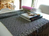 シャドー織り織り上がり、裂き織りBAG - アトリエひなぎく 手織り日記