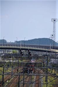 藤田八束の鉄道写真@八戸貨物ターミナルを出発する貨物列車金太郎・・・青い森鉄道と鉄道写真 - 藤田八束の日記