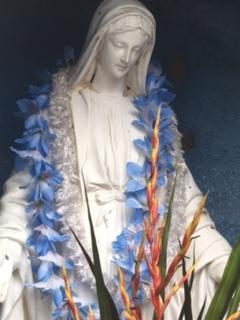 いよいよ明日は「マリア展」設営します。お知らせ - Mrs.pineappleのbody,mind,spiritに働きかけるとっておきの美容法