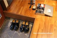 夏休み最後の宿題 ~靴を磨く~  - 身の丈暮らし  ~ 築60年の中古住宅とともに ~