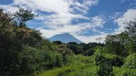 処暑の富士山と雲 - 富士のふもとの農業日誌