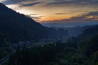 晩夏 ~奈良の里山 夜明け - katsuのヘタッピ風景