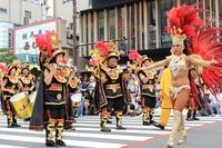 圧倒的存在感のダンサーたち(浅草サンバカーニバル)(その2) - 旅プラスの日記