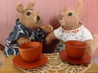 二人の Tea time - うららフェルトライフ