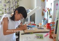 夏休み最後の日と自由研究 - nyaokoさんちの家族時間