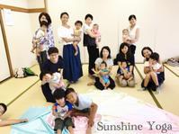 ご参加ありがとうございました!夏休み☆ミュージック・ケアクラス - Sunshine Places☆葛飾  ヨーガ、マレーシア式ボディトリートメントやミュージック・ケアなどの日々