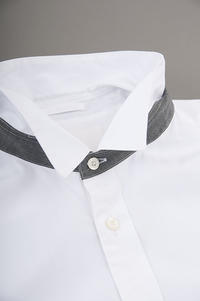 STILL BY HAND  Broad Shirt (White) - un.regard.moderne