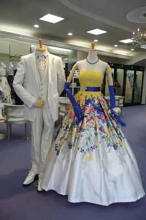 本日のカラードレス -