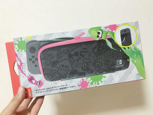 【SWITCH】Nintendo Switchキャリングケース スプラトゥーン2エディション (画面保護シート付き) - hamaribros-x