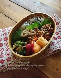 9.1 照り焼きごまチキン弁当と『今日の美活』 - YUKA'sレシピ♪