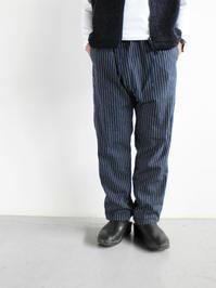 NEEDLES Samue pant - 9oz Stripe Denim - 『Bumpkins putting on airs』