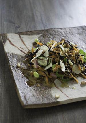 ひじきと根菜のサラダ - 食卓の風・・・