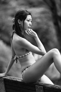 美雨ちゃん7 - モノクロポートレート写真館