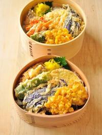 天丼弁当 - 家族へ 健康弁当