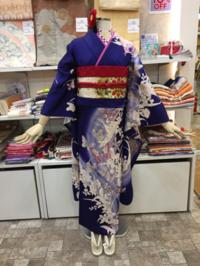 リユース振袖大人な紫コーディネイト - Tokyo135° sannomiya