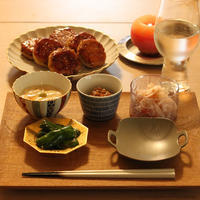 蓮根つくねでおつまみごはん - HOSHIZORA DINING