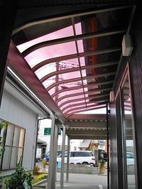 施工例>テラス屋根 - まるぜん住宅設備ブログ「いつも前むき」