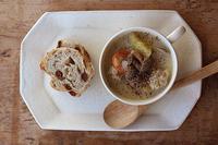 根菜鶏団子スープ - Nasukon Pantry