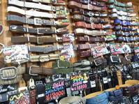 閉店ギリギリ・・・ - 上野 アメ横 ウェスタン&レザーショップ 石原商店