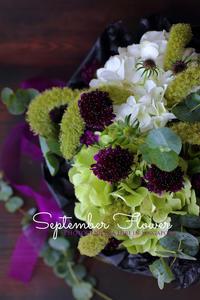 お花市場へ*夏の終わりのBOUQUET - フォトジェニックな日々