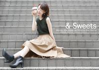 &Sweets:立てば芍薬座れば牡丹、歩く姿は百合の花、とは小宮衣里さん。でもってsony α7RIIのモアレ問題とPhotoshop補正前補正後。 - 東京女子フォトレッスンサロン『ラ・フォト自由が丘』-写真とフォントとデザインと現像と-