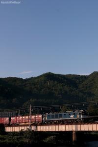 斜陽の橋梁を往く。 - 山陽路を往く列車たち
