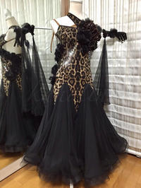 ●Dress for Sale*スタンダードドレス(黒&豹柄) - 元バレリーナのOL的日常
