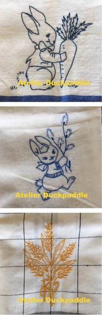 刺繍クラスレッスン - 手作りな暮らし Atelier Duck Paddle