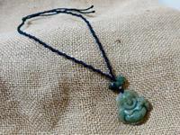 【マクラメ&ヘンプ】#155 布袋さまのネックレス - Shop Gramali Rabiya (SGR)
