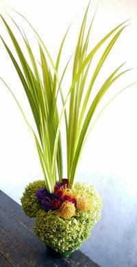 平岸3条のスープカレー屋さんの10周年に。2017/09/01。 - 札幌 花屋 meLL flowers