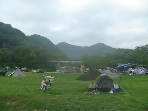二泊三日のソロキャンプ『笠置、二日目』 -