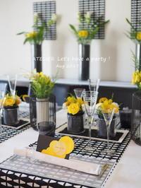 「8月のテーブルコーディネート&おもてなし料理レッスン」終了しました♪ - ATELIER Let's have a party ! (アトリエレッツハブアパーティー)         テーブルコーディネート&おもてなし料理教室