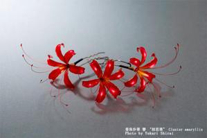 「てのこと」さまで曼珠沙華かんざしを販売いただきます - 榮 - kanzashi sakae - 簪作家