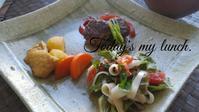 私のランチプレート - 料理研究家ブログ行長万里  日本全国 美味しい話
