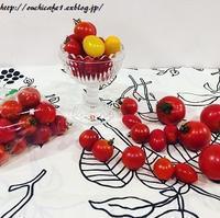 【おうちごはん】トマトの食べ比べ♪おいしいものはシンプルレシピが一番いい。 - 10年後も好きな家