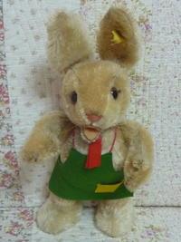 ヴィンテージ・シュタイフ Ossili Rabbit 立っているウサギ - ヴィンテージ・シュタイフと仲間たち