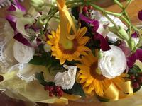 お花が届きました - 4Hands duo Diary 連弾日誌