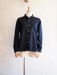 【 R I N E N 】 40/1オーガニックオックス ラウンドカラーシャツ - Humming room