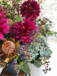 2017年10月~2018年3月のフラワーレッスン@labo1113 - la petite couronne de fleur