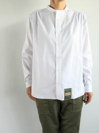 ASEEDONCLOUD HW collarless shirt - 『Bumpkins putting on airs』