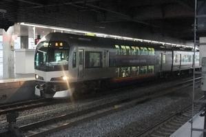 快速マリンライナー。(岡山駅にて) -
