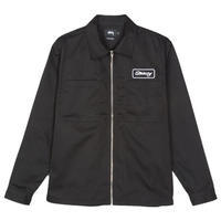 Stüssy Full Zip Work Shirt - trilogy news