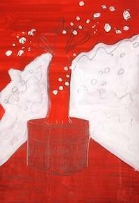台風 - たなかきょおこ-旅する絵描きの絵日記/Kyoko Tanaka Illustrated Diary